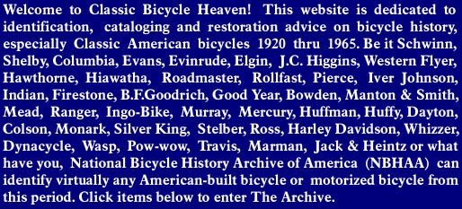 National Bicycle History Archive of America